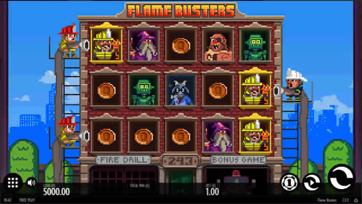 Top Ten Slots With Minimum Bets: Flame Busters