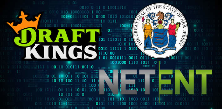 Netent new deal with Draftkings in New Jersey