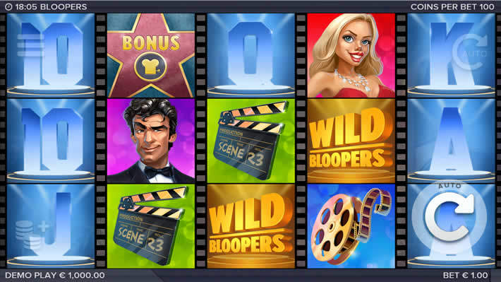 Bloopers Slot by ELK Studios