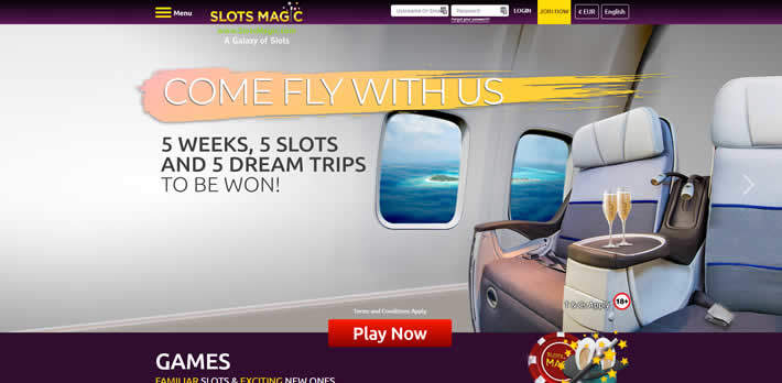 SlotsMagic Casino Come fly with us