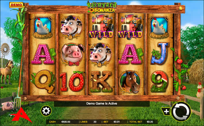 Barnyard Bonanza slot by Ainsworth