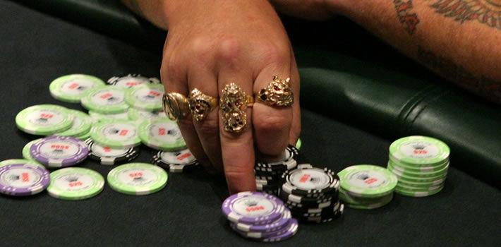 Casino Chips stolen.