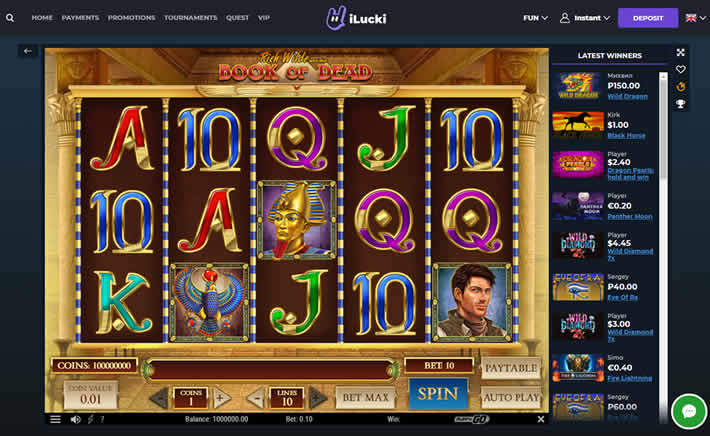 ilucki casino new play for fun - no account