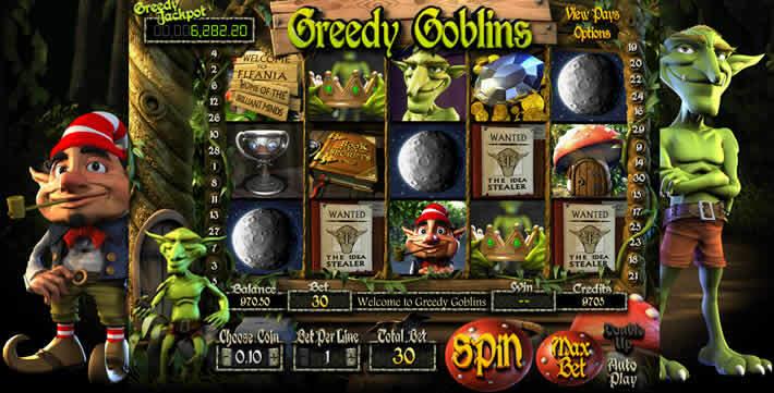 Betsoft Progressive Jackpots Slot: Greedy Goblins
