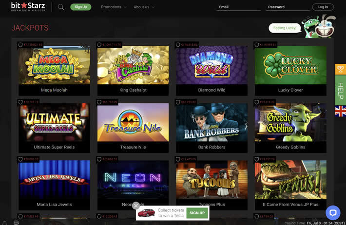 Bitstarz casino games: More than 2,200 tittles available!