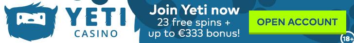 Yeti Casino Promotions 2020