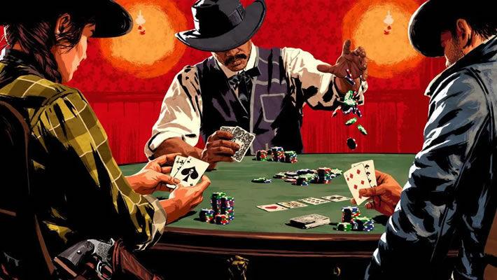 Poker table game design