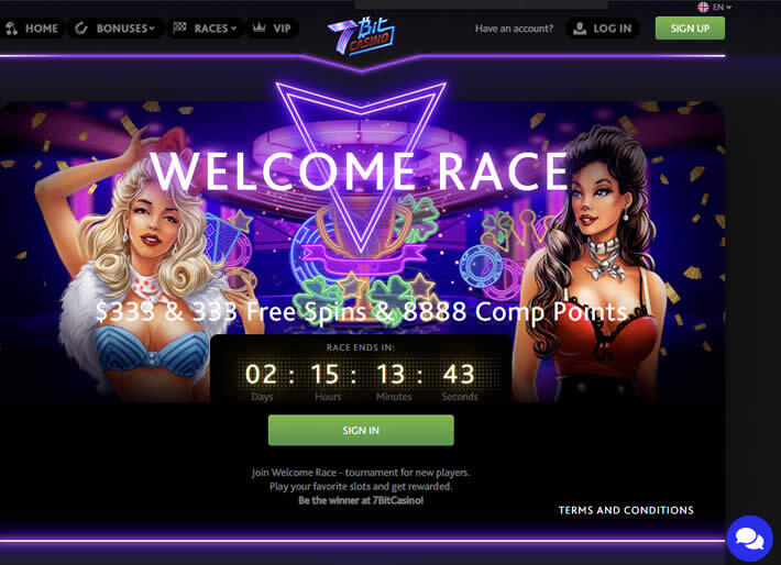 7Bit casino races