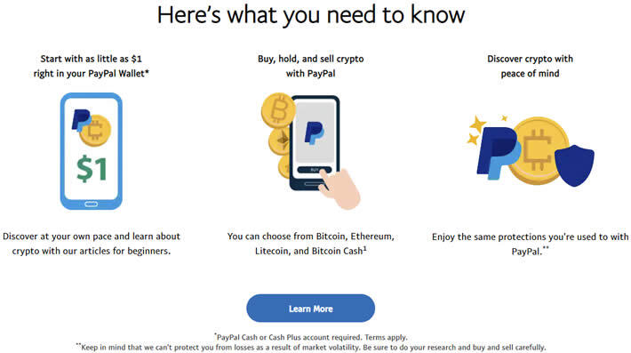 Buy crypto using paypal how to.