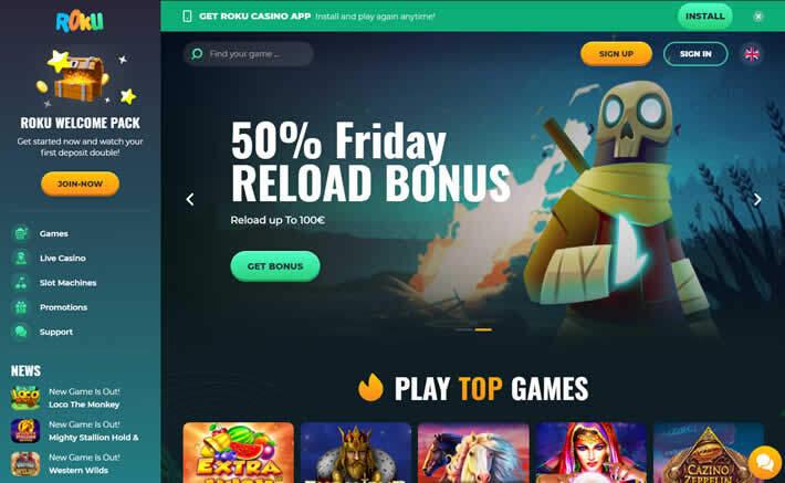 Roku casino Homepage