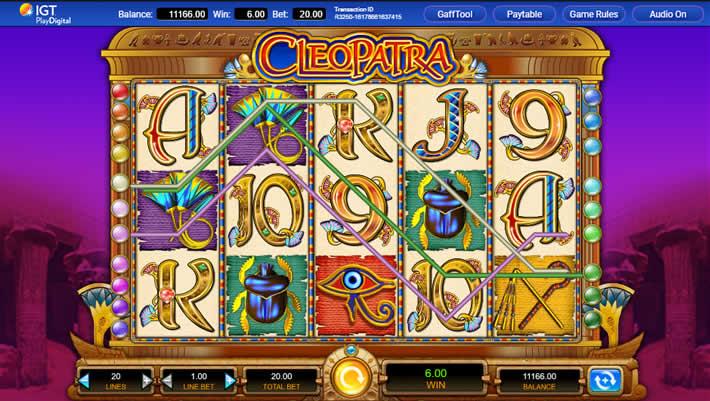 IGT Cleopatra Slot