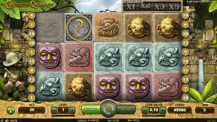NetEnt Gonzo's Quest Slot