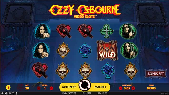NetEnt Ozzy Osbourne Slot