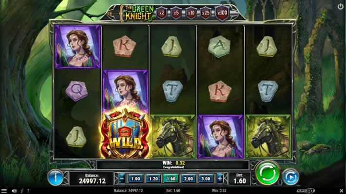 Play n Go slot Green Knight 2021