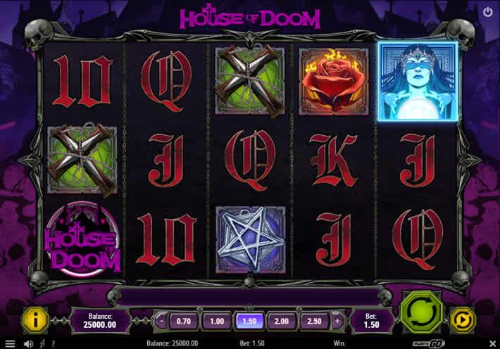 House of Doom 2: The Crypt Play N Go Slot