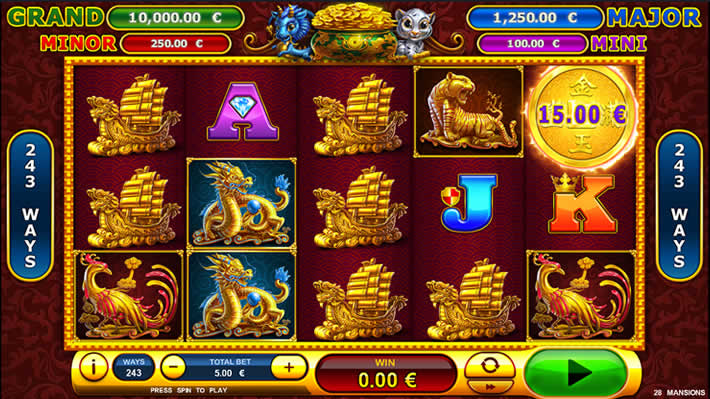 28 Mansions Playtech Slot