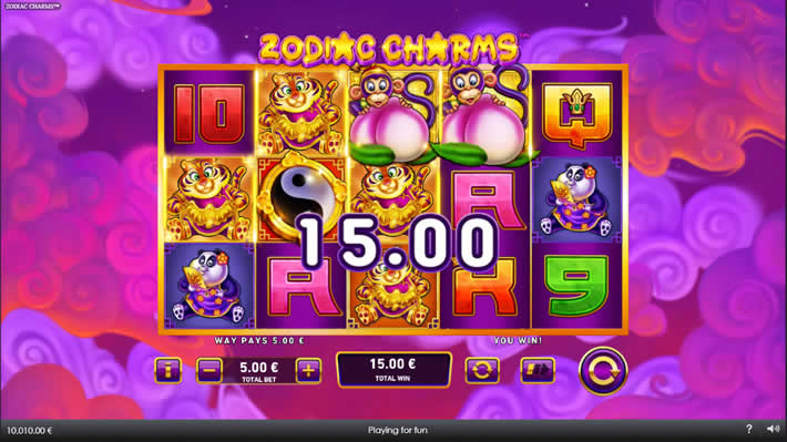 Zodiac Charms Playtech Slot