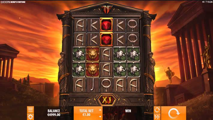 Quickspin Slot: Nero's Fortune