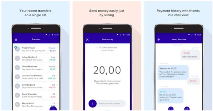 Siirto transfer money easily